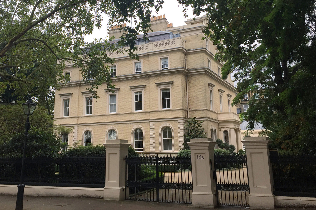 London Kensington home said to sell for RM560 mil | KINIBIZ on shop floor plans, london home rentals, london apartments floor plans, london flat floor plans, london home architecture, london home design, london home construction,