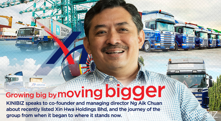 Growing big by moving Bigger - Xin Hwa - issue inside story banner